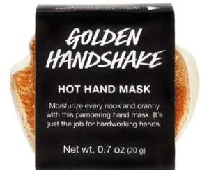 Lush Golden Handshake package (Photo: Lush USA)