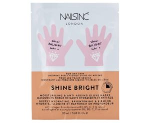 Packet of Nails Inc. London Shine Bright Anti-Aging Hand Mask (Photo: Nails Inc. London)