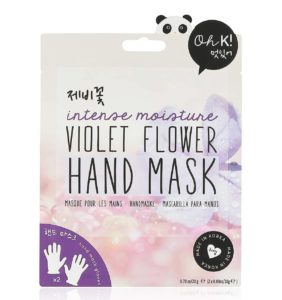 Packet of Oh K! Violet Flower Intense Moisture Hand Mask (Photo: Oh K!)