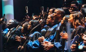 The Howard Univesity Gospel Choir performing at a previous concert. (Photo: Howard University Gospel Choir)