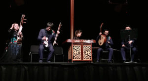 The Beijing Bamboo Orchestra performing. (Photo: Kennedy Center)