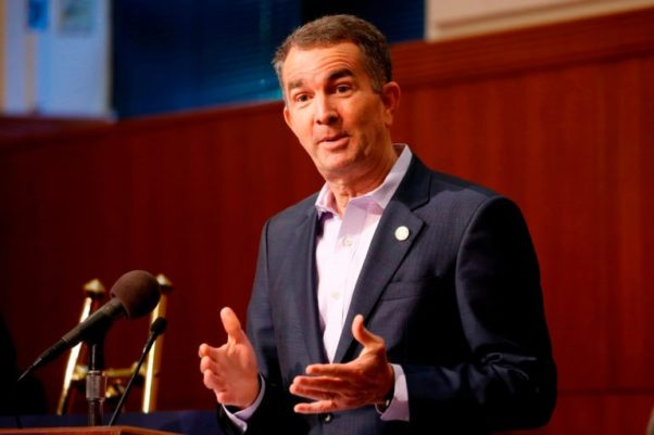 Virginia Gov. Ralph Northam gestures during a news conference at the Capitol Wednesday April 8, 2020, in Richmond, Va. Northam gave an update on his COVID-19 plans. (Photo: Steve Helber/AP)
