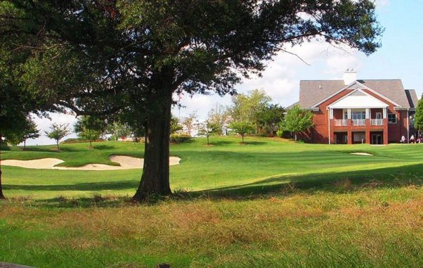 The University of Maryland golf course and clubhouse. (Photo: University of Maryland)