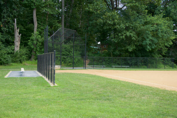 Softball field at Capital View-Homewood Local Park in Kennsington, Md. (Photo: Montgomery Parks)