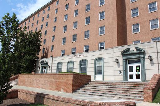 Outside of Denton Hall. (Photo: University of Maryland)