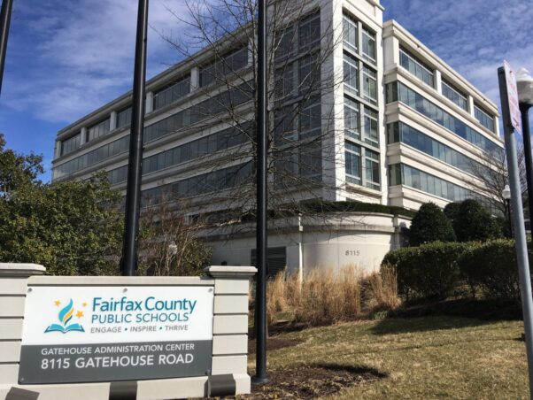 Outside of the Fairfax County Public Schools' Gatehouse Administration Center in Merrifield, Va. (Photo: Matthew Barakat/AP)