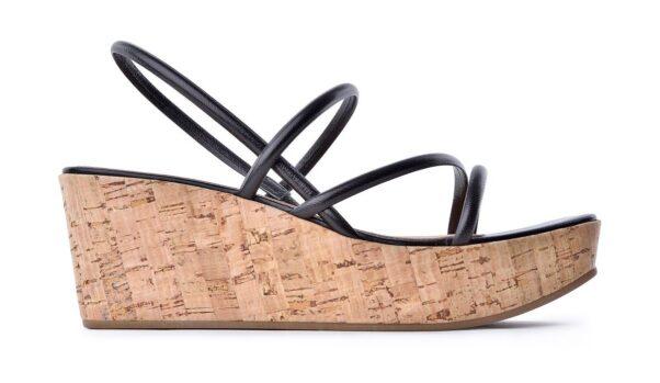 brown plantform sandel with cork sole (Photo: Contributed)