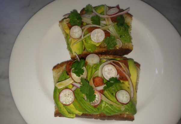 Avocado toast (Photo: Mark Heckathorn/DC on Heels)