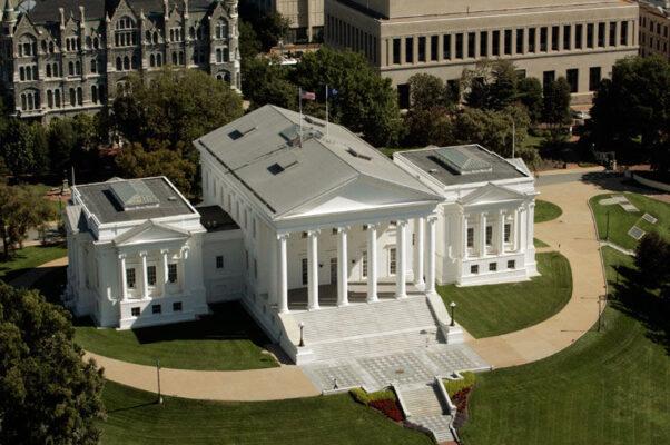 The exterior of the Virginia Capitol building. (Photo: Joe Mahoney/Richmond Times-Dispatch)
